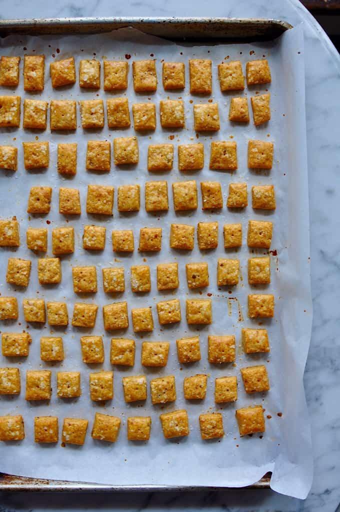 Homemade Jalapeno Cheesy Crackers Recipe