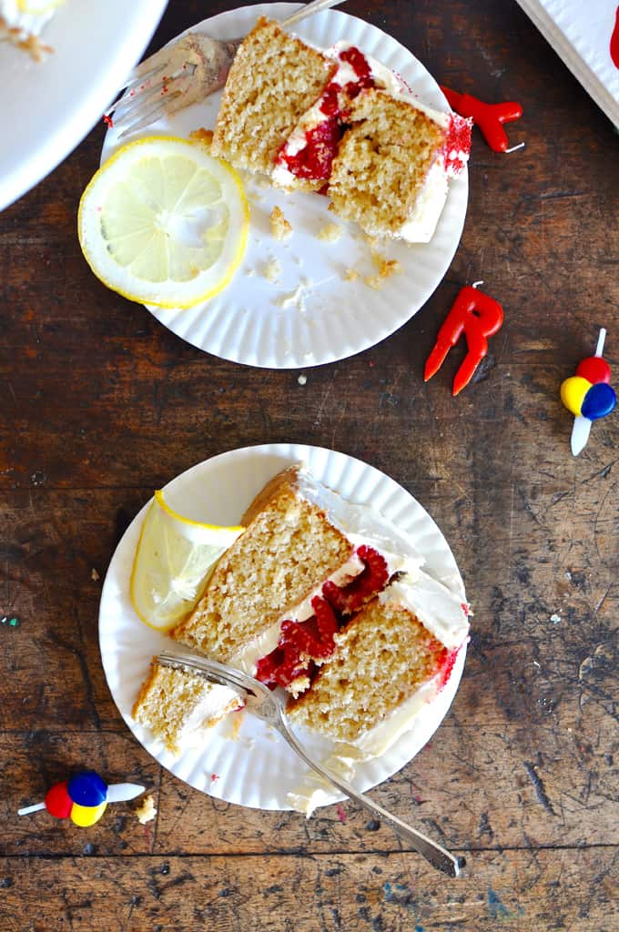Double Layer Lemon Cake Recipe