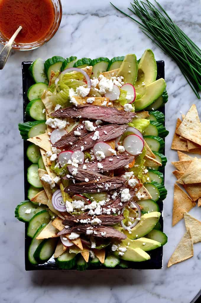 Salpicon Fattoush Salad Recipe