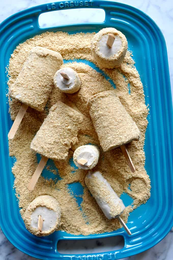 Vegan Guava Cream Pie Pops Recipe