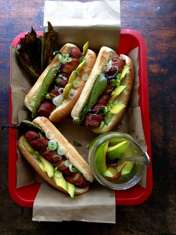 Bacon Wrapped Hot Dog Recipe