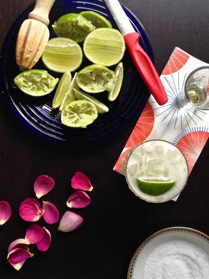 This one's it. This Cadillac Margarita is the only margarita recipe you will ever need. Fresh lime juice, the best tequila you can buy, and a salted rim. #cadillacmargarita #margaritarecipe #classicmargarita #margarita