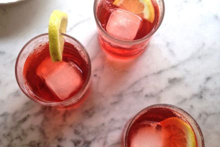 Campari Wine Spritzer Recipe