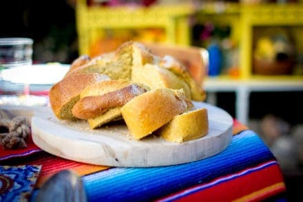 Pumpkin Spice Pan de Muerto Recipe