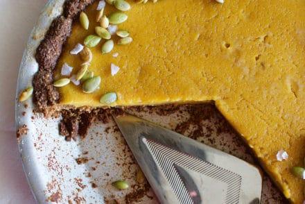 Piloncillo Pumpkin Pie with Pepita Crust Recipe