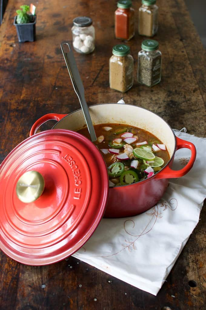 10 Best Recipes-Spicy Lime Jalapeño Chicken Soup Recipe from @holajalapeno
