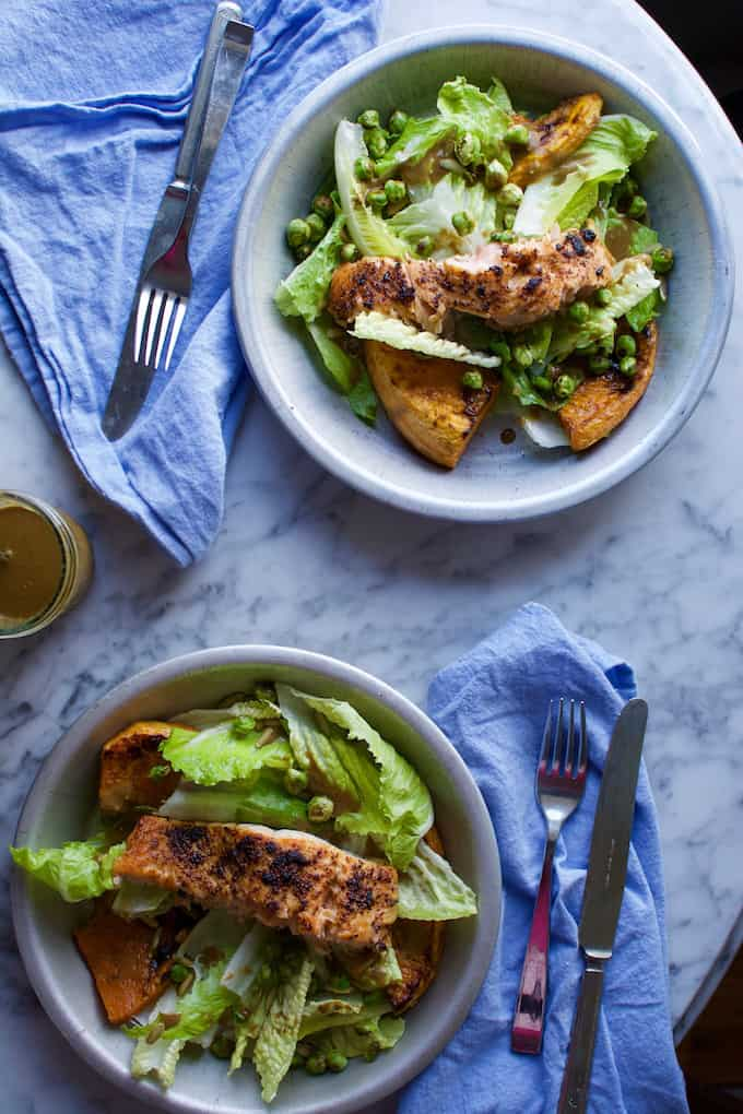 Chili-Lime Salmon Salad Recipe