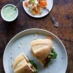 Chicken Milanesa Sandwich with Lime-Basil Mayo Recipe