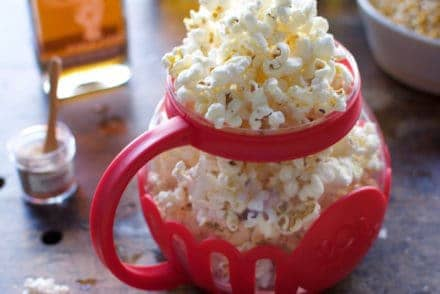 Smoked Maple Butter Popcorn with Habanero Salt