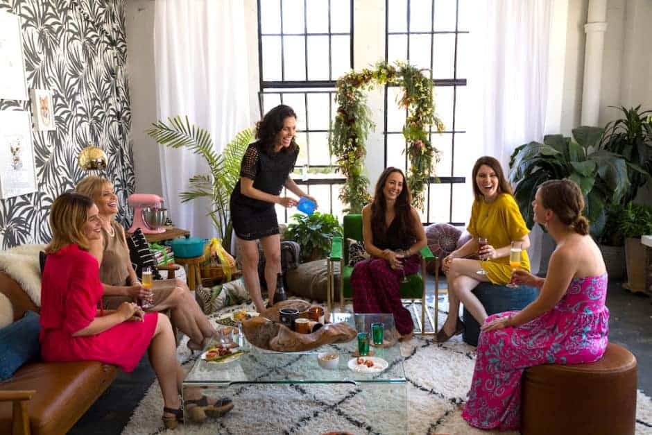 How to throw a whimsical bridal shower for a travel loving girl who, oh yeah...already eloped! With a menu, decor ideas, florals, and a DIY champagne bar.