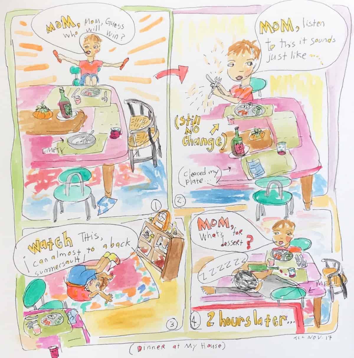 A weekly illustration by Tara Carmichael