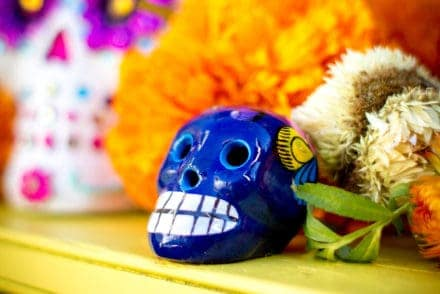 A Day of the Dead Altar is the focal point of holiday celebrations. Everything from candles to incense, Papel Picado to even Pan de Muerto can be ordered online. Here are 10 essentials to order now to prepare your Ofrenda by October 31. #dayofthedead #diadelosmuertos #ofrenda #dayofthedeadaltar