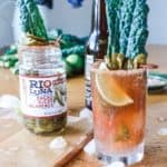The Best Spicy Jalapeño Michelada