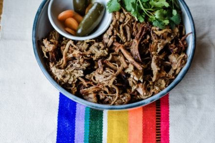 #ad| The easiest—and crispiest—pork carnitas recipe ever thanks to the help of my new Instant Pot Duo Crisp + Air Fryer. #porkcarnitasrecipe #holajalapeno #instantpot