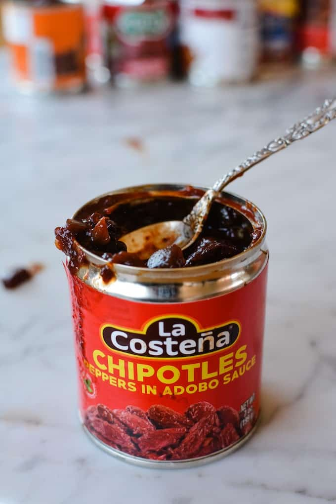 The best chipotle peppers in adobo. This is my all-time favorite brand. Click here to see the runner up and what to make with them! #chipotlepeppers #chipotles #chipotlesinadobo #chipotlepeppersinadobo