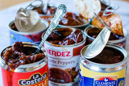 Find out which canned chiptole peppers in adobo are the best! Click here for my overall favorite plus the best gmo-free brand and gluten-free brand. #chipotlepeppers #chipotlepeppersinadobo #chipotlerecipes #chipotlesinadobo #mexicanfood #chipotles