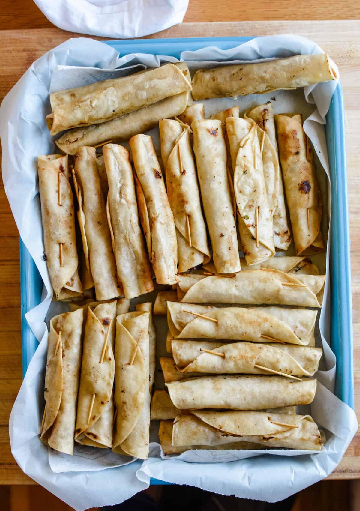 Crispy Beef Flautas With Shredded Zucchini Hola Jalapeno