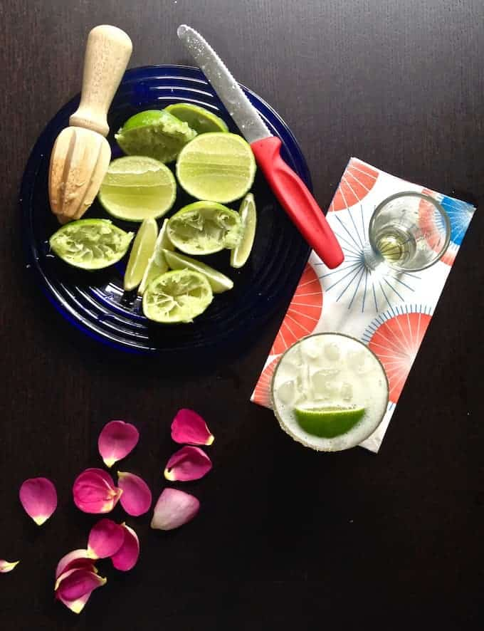 A tasty, refreshing Classic Cadillac Margarita is the perfect cocktail for Cinco de Mayo. Take a look and see what else is in our Stay Inside Cinco de Mayo Party guide so we can have fun while we're staying safe. #cincodemayo #cadillacmargarita #margarita #cincodemayorecipes