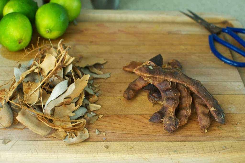 Limes aren't the only ingredient that add a tartness to Mexican food. Tamarind is another way to bring a little tang to a Mexican dish. See what other ingredients are essential to my Mexican pantry. #Mexicanfood #Mexicanrecipes #Mexican #tamarind