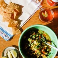 Spiked Mango Margarita Salsa Recipe