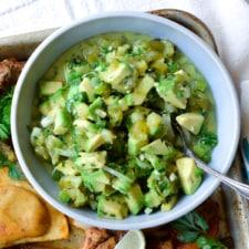 Easy Jalapeño Avocado Salsa Recipe