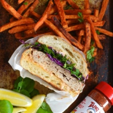 Tapatio Turkey Burger Recipe with Spicy Mayo